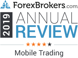 forexbrokers.com 2019 4 stars mobile trading